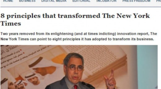 8 principles that transformed The New York Times