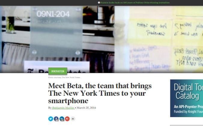 Sådan tænker New York Times udviklingsteam