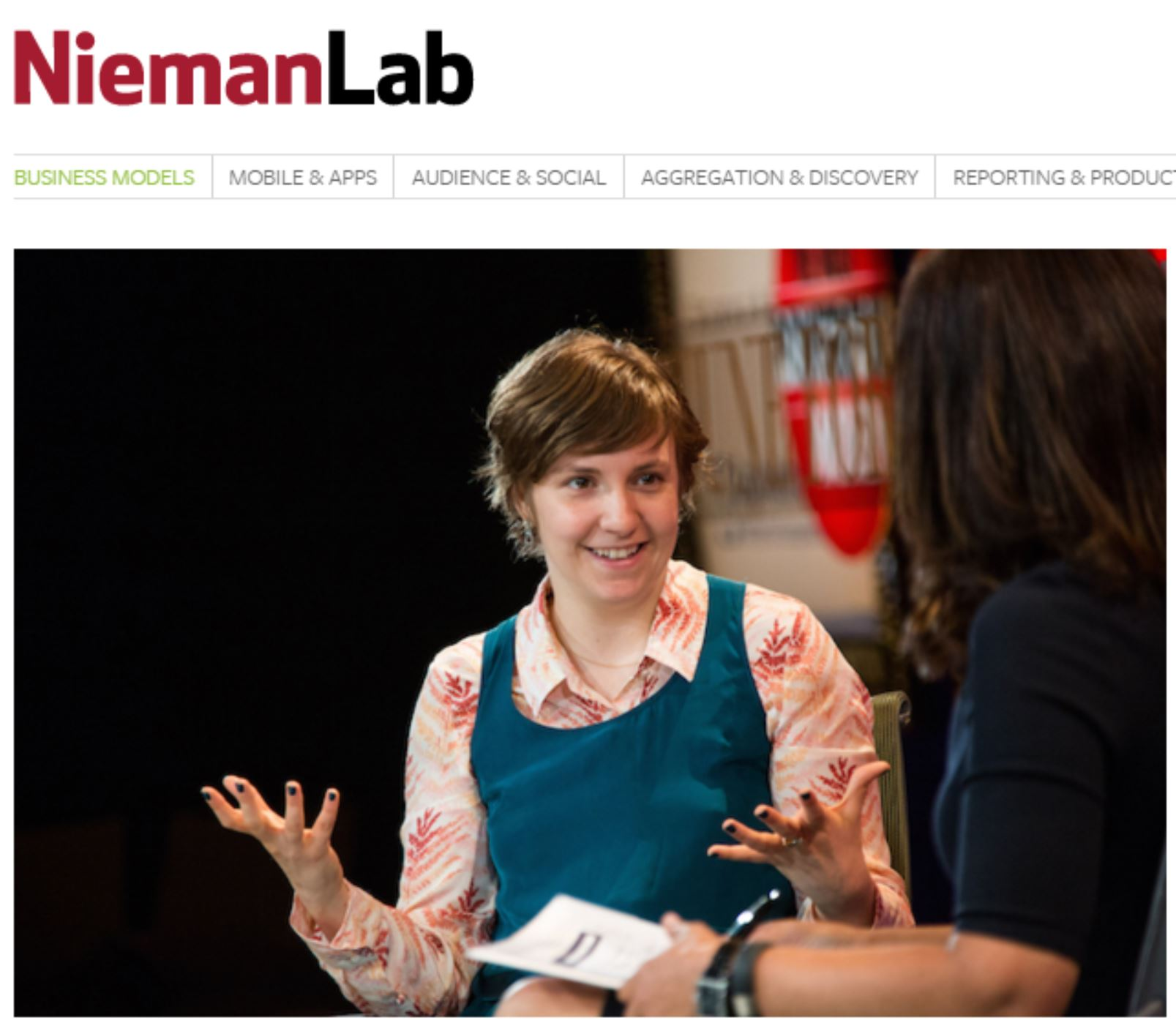 Lena Dunham's Lenny Letter has grown to 400,000 subscribers with a 65 percent open rate