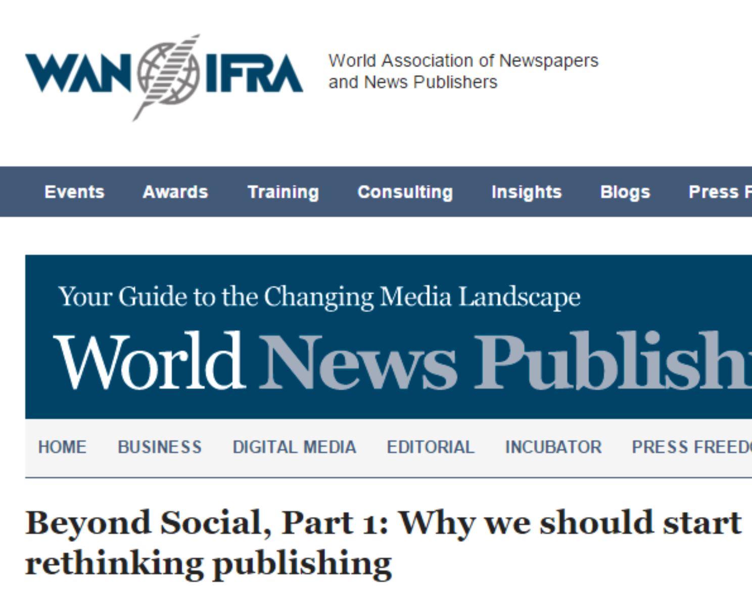 Why we should start rethinking publishing