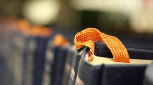 Bogmærker gør det let at læse langt
