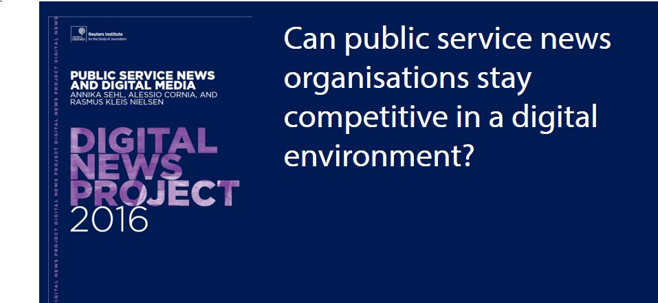 Kan public service følge med den digitale udvikling?