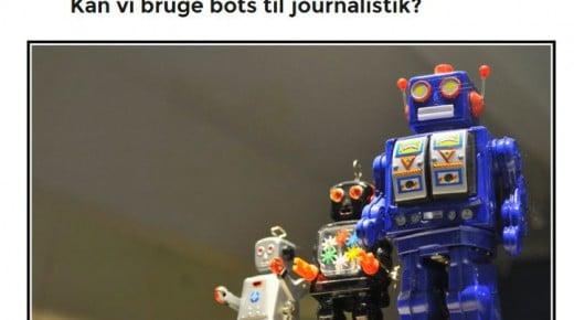 Kan vi bruge bots til journalistik?