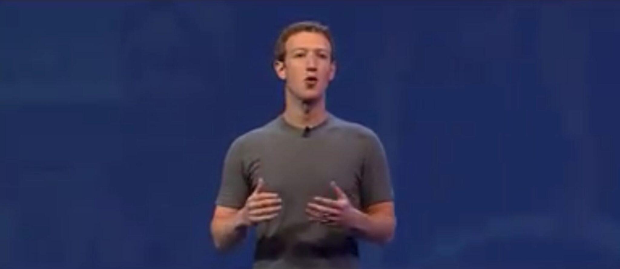 Se Zuckerbergs keynote
