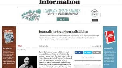 Journalister truer journalistikken