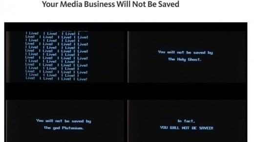 Dit medie bliver ikke reddet