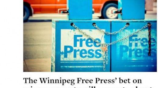 Avis sælger artikler i løssalg