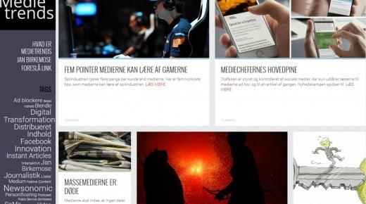 Medietrends på Instant Articles