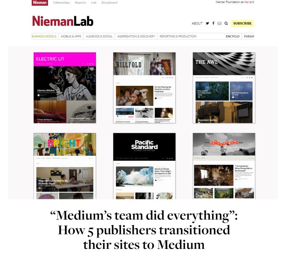 medier elsker medium