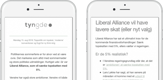 Ny dansk nyhedsmotor