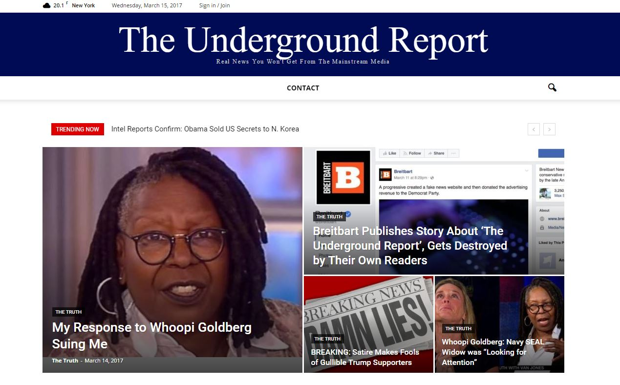 Amerikansk fake news medie fortrød efter to uger