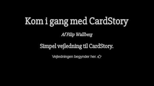 Nyt dansk Snapchatagtig fortælleværktøj