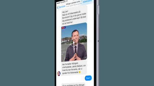 Altinget lancerer chatbot til Folkemødet