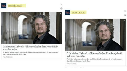 Medier kan fortsat ændre overskrifter på Facebook