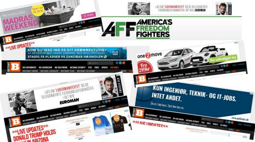 Flere end 600 globale (og danske) brands annoncerer på fake news medier
