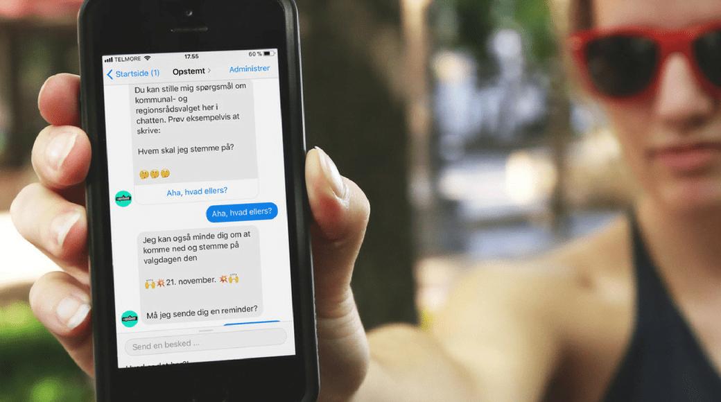 Sådan vil medier bruge chatbots til kommunalvalget