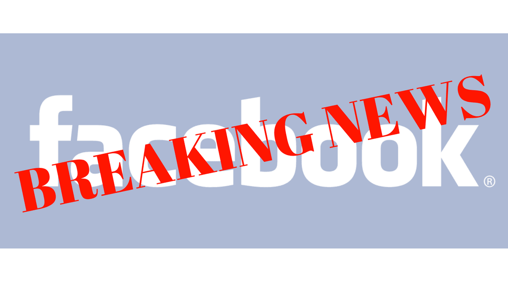 Facebook vil teste BREAKING NEWS opslag