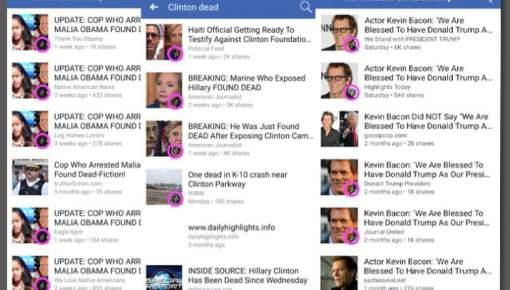 Når fake news udkommer direkte på Facebooks egen platform