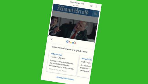 Google vil sælge abonnementer for medierne
