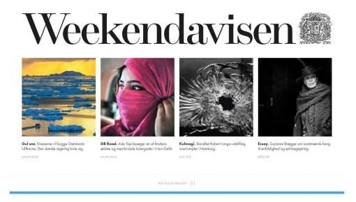 Kl. 6 i morges trådte Weekendavisen ind i det 21. århundrede
