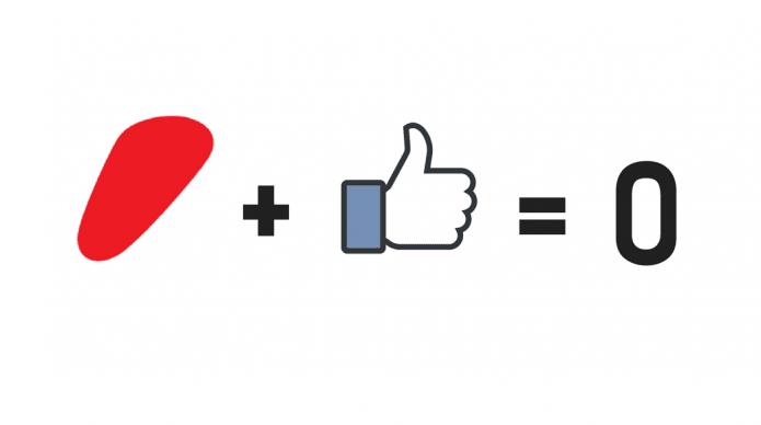 Information går i Facebook-cølibat