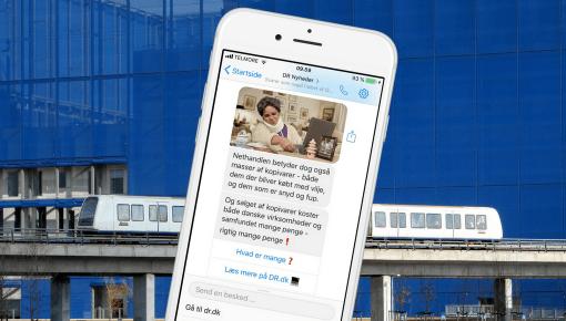 DR vil fordoble antallet af brugere på chatbot