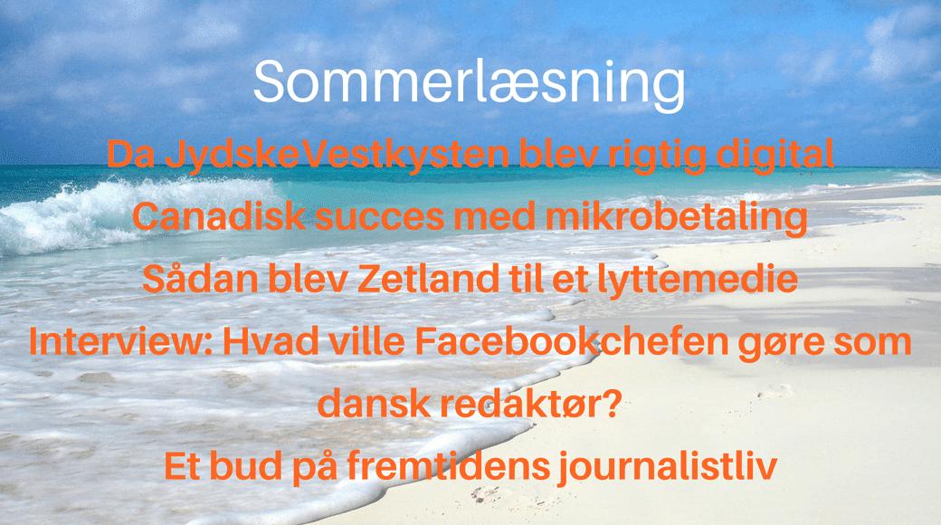 Fem artikler til sommerferien