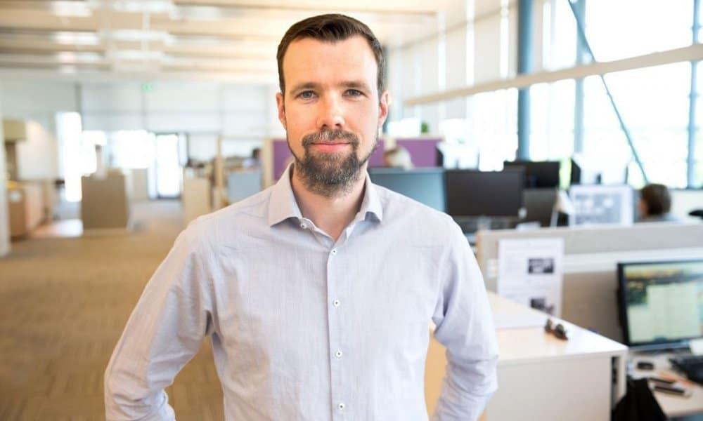 MittMedias digitale chef Robin Govik