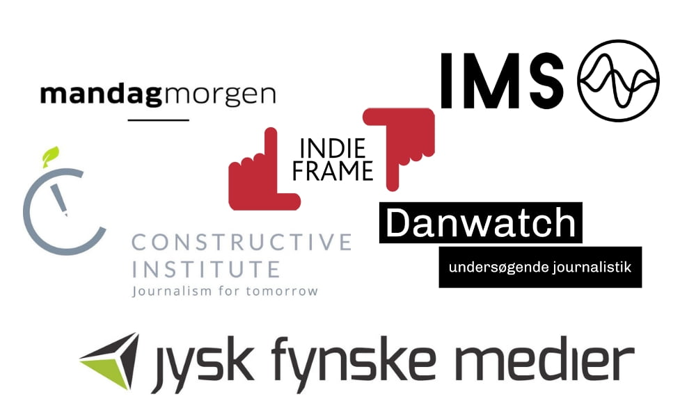 Fire danske medieprojekter får millioner fra Google