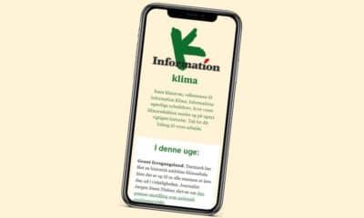 Dagbladet Information sælges nu i skiver til dem, der er særligt interesserede i klimajournalistik og som ikke ønsker hele avisen