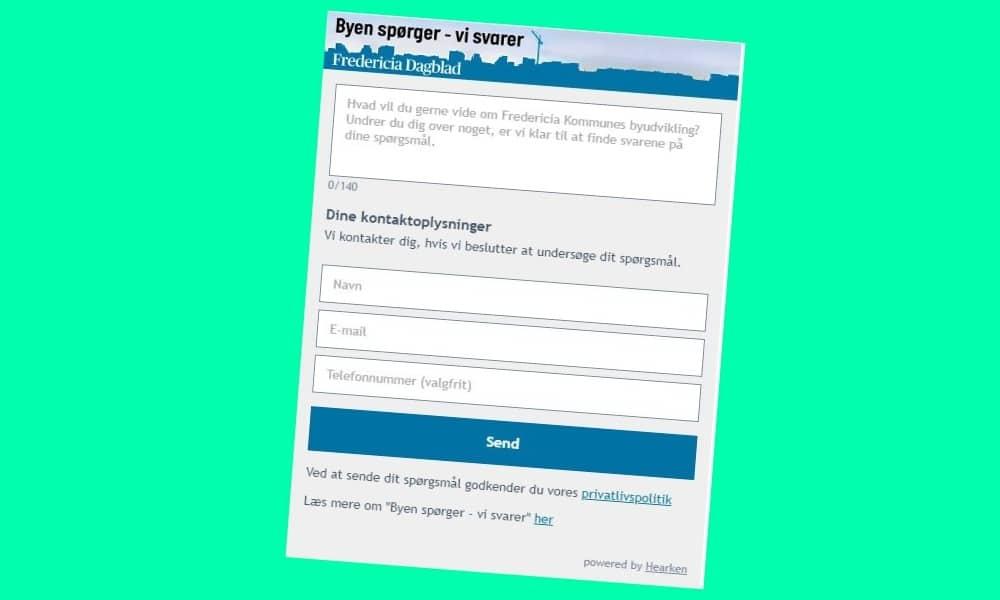 I fire måneder har Jysk Fynske Mediers læsere kunne komme med forslag til historier. Det er der foreløbigt kommet 60 artikler ud af