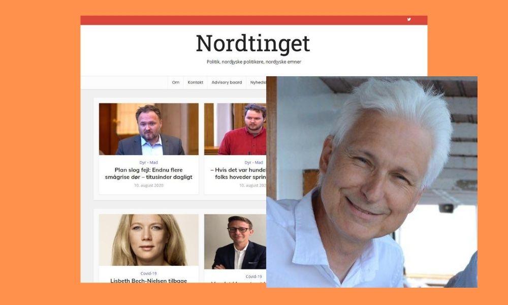 Nordjyske lukkede Christiansborgredaktionen og fyrede Esben. Så nu fortsætter han arbejdet som selvstændig