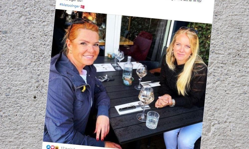 Støjberg og Vermund kupper metoo på Facebook