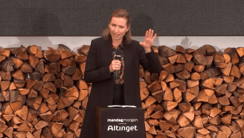Mette Frederiksen: Danske journalister har rod med proportionerne