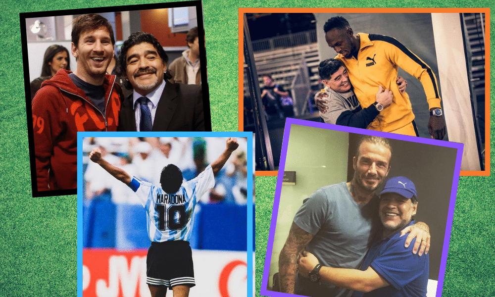 Maradonas død skaber vildt Facebook-moment