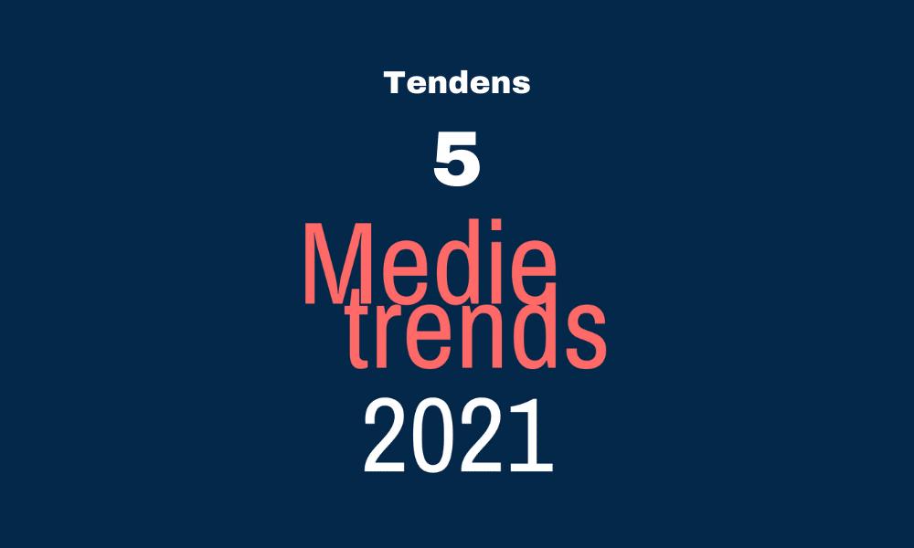 Medietrends 2021: Automatisering bliver hverdag